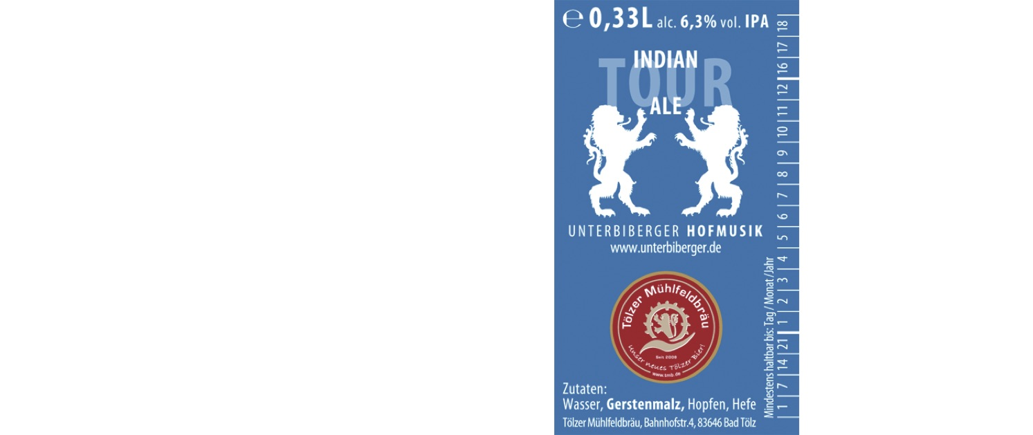 UNTERBIBERGER INDIAN TOUR ALE